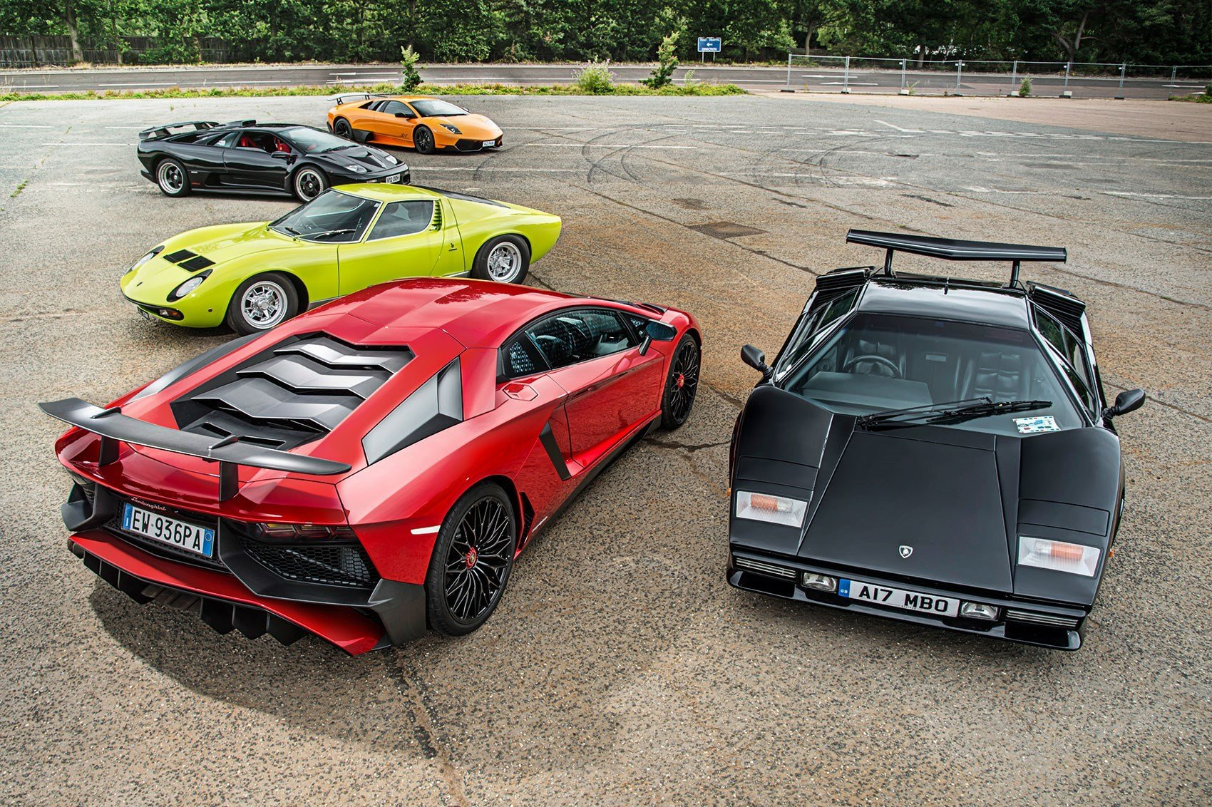New Poll Which Is The Greatest V12 Lamborghini Of All Car On This Month