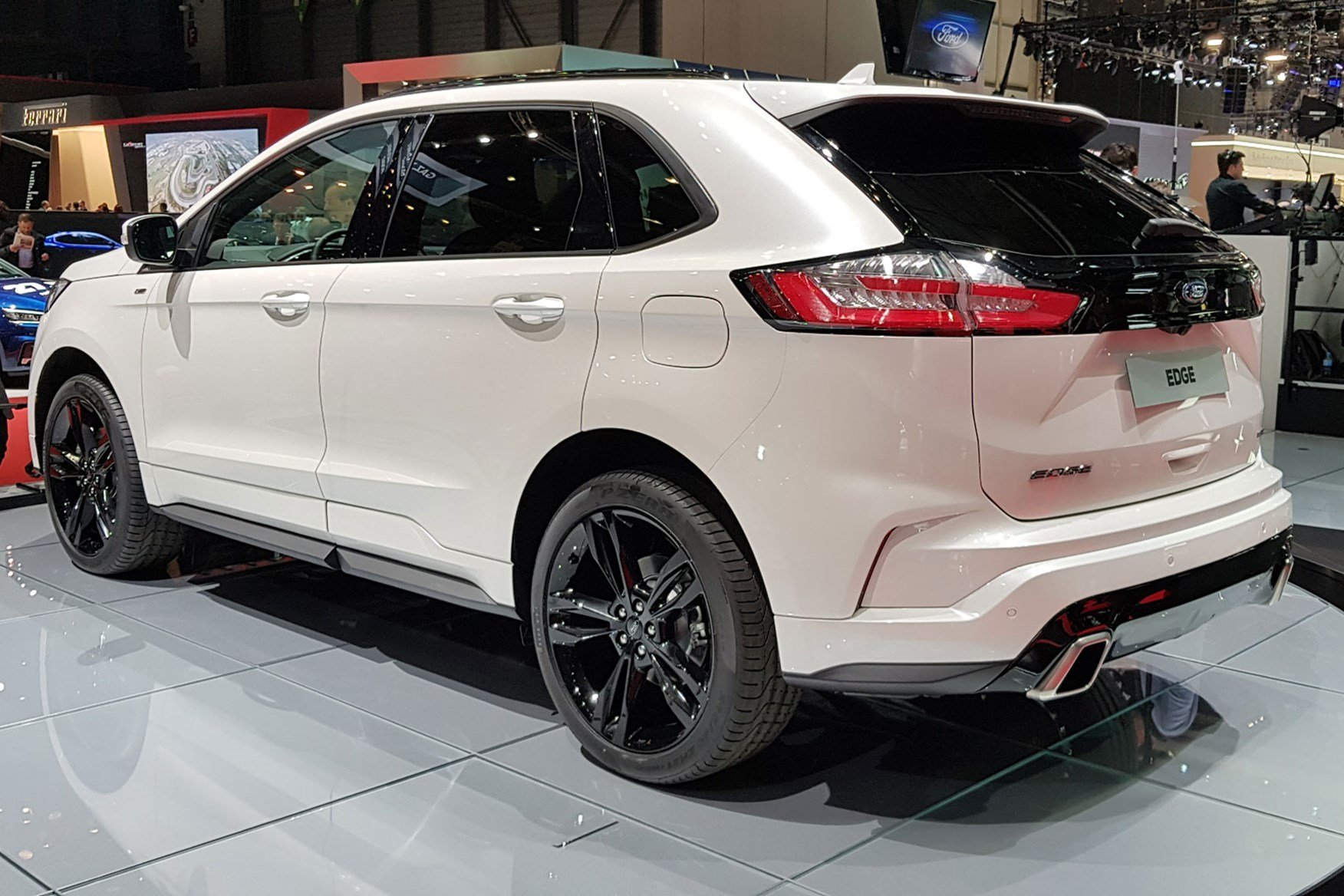 New Ford Edge Updated Suv Arrives At Geneva 2018 Car On This Month
