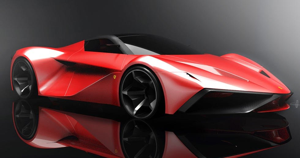 New Ferrari Laferrari Replacement Imagined In New Design Study On This Month