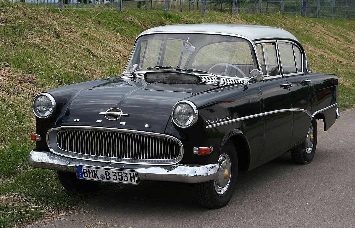 New Opel Rekord P1 Wikipedia On This Month