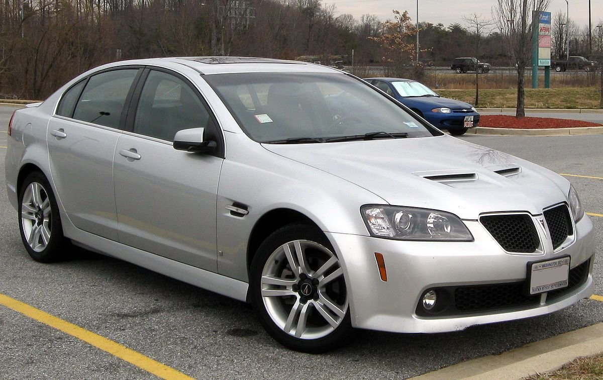 New Pontiac G8 Wikipedia On This Month