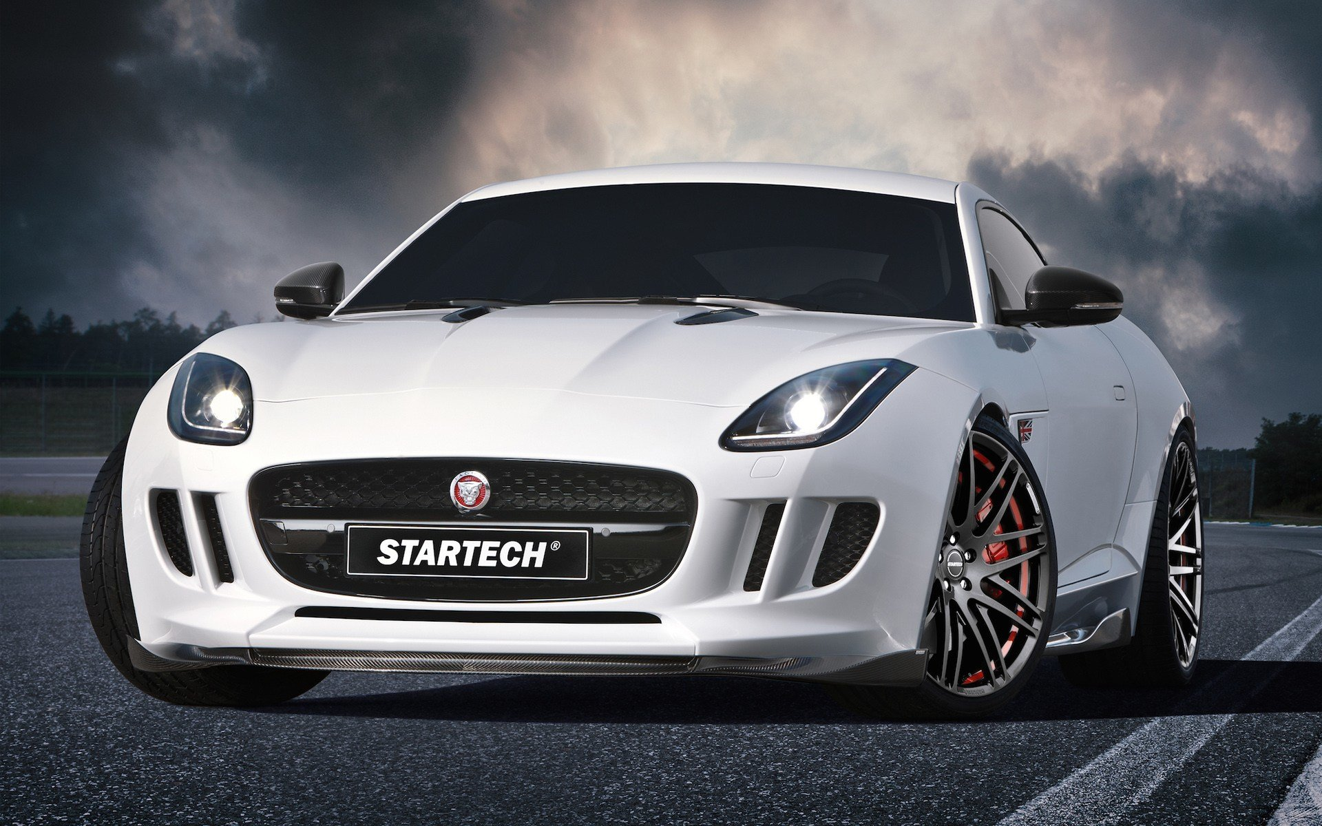 New 2015 Startech Jaguar F Type Coupe Wallpaper Hd Car On This Month