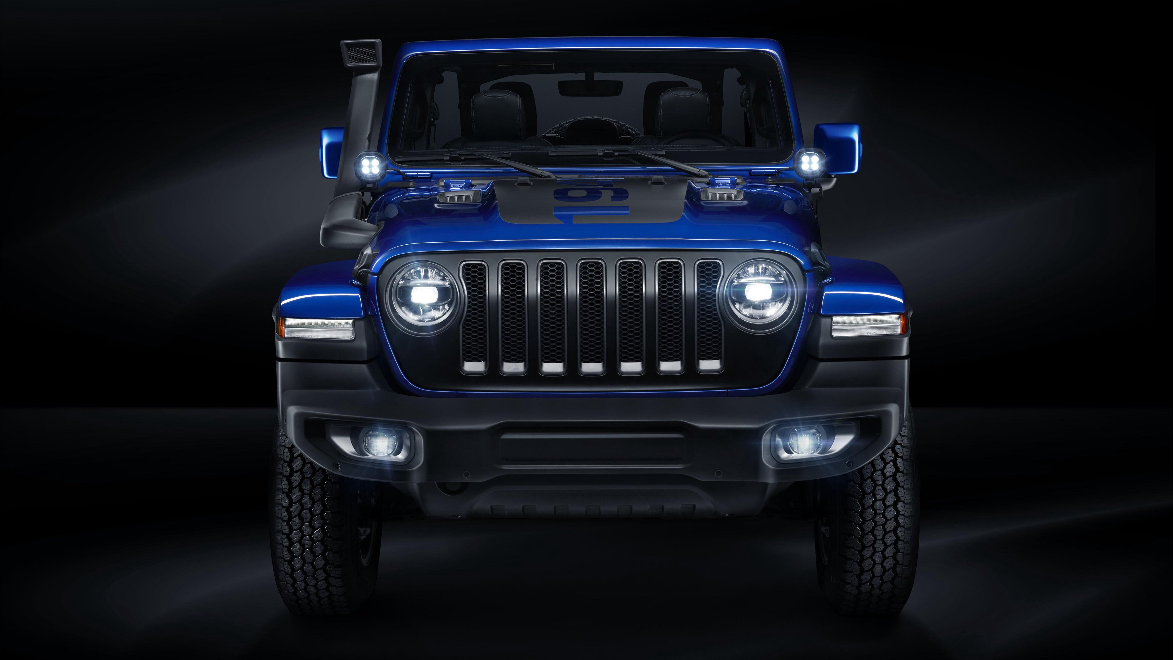 New 2018 Jeep Wrangler Unlimited Moparized 4K Wallpaper Hd On This Month