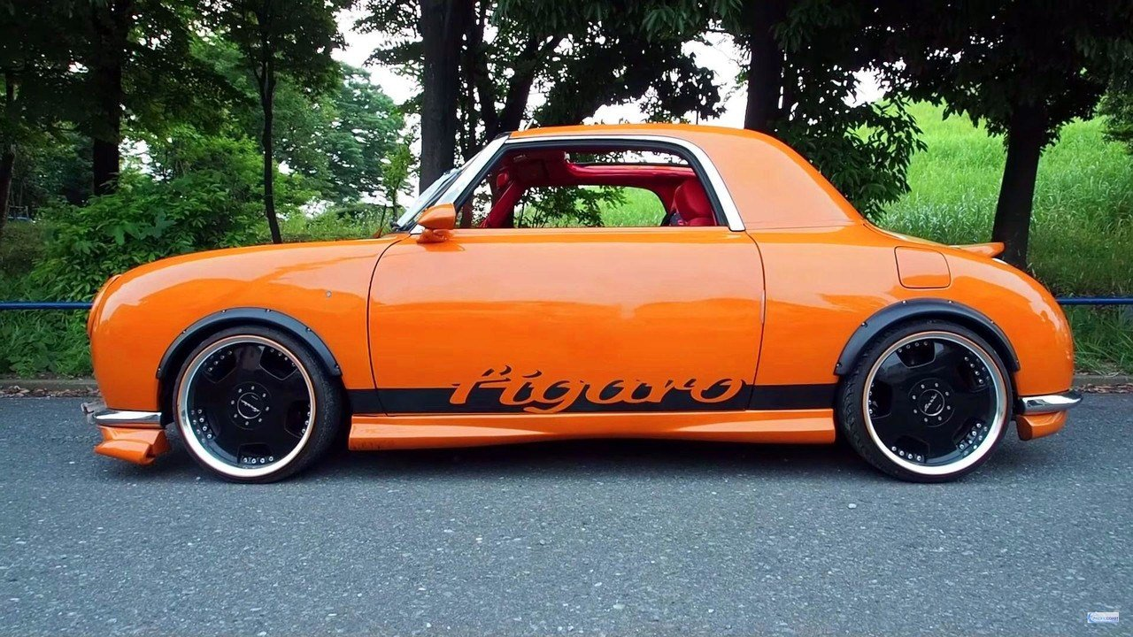 New 1992 Nissan Figaro Show Car Photo Gallery On This Month