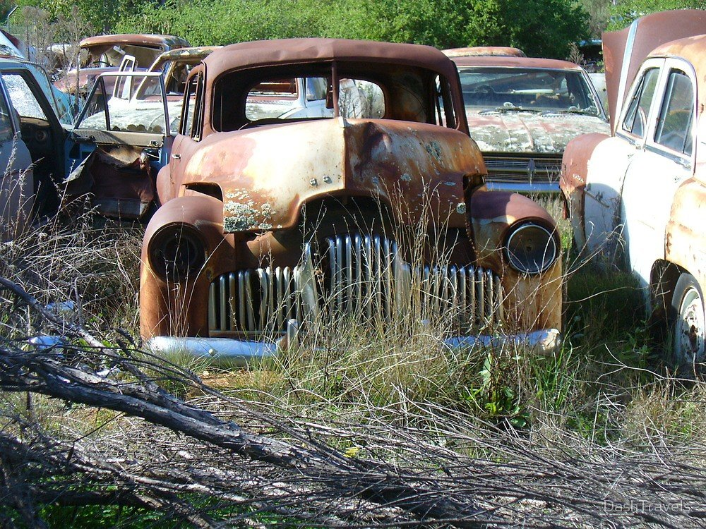 New Peak Hill Car Wrecks Old Holden By Dashtravels Redbubble On This Month