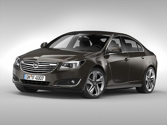 New 3D Opel Insignia 2014 Cgtrader On This Month