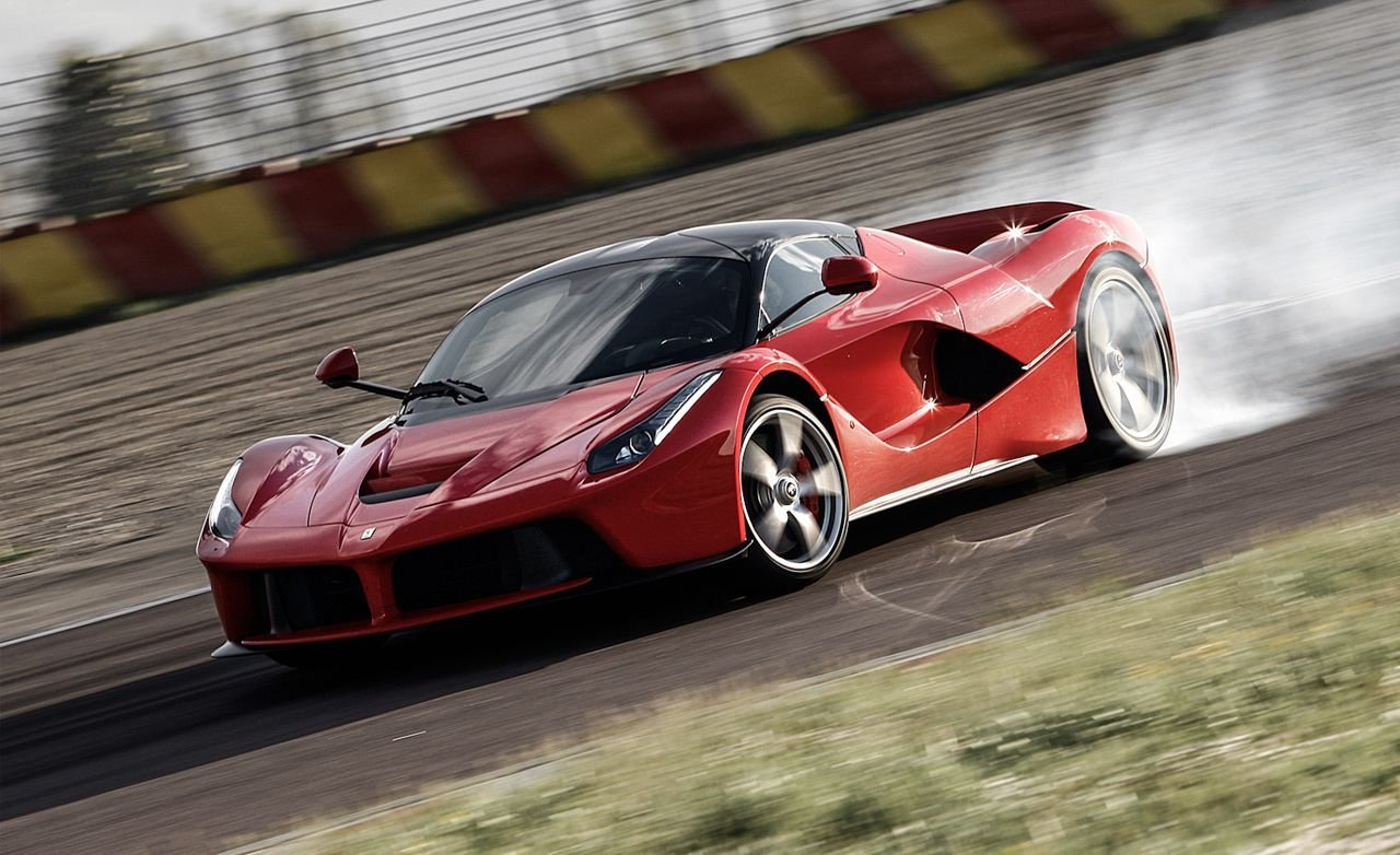 New Ferrari Laferrari Hypercar Tested Review Car And Driver On This Month