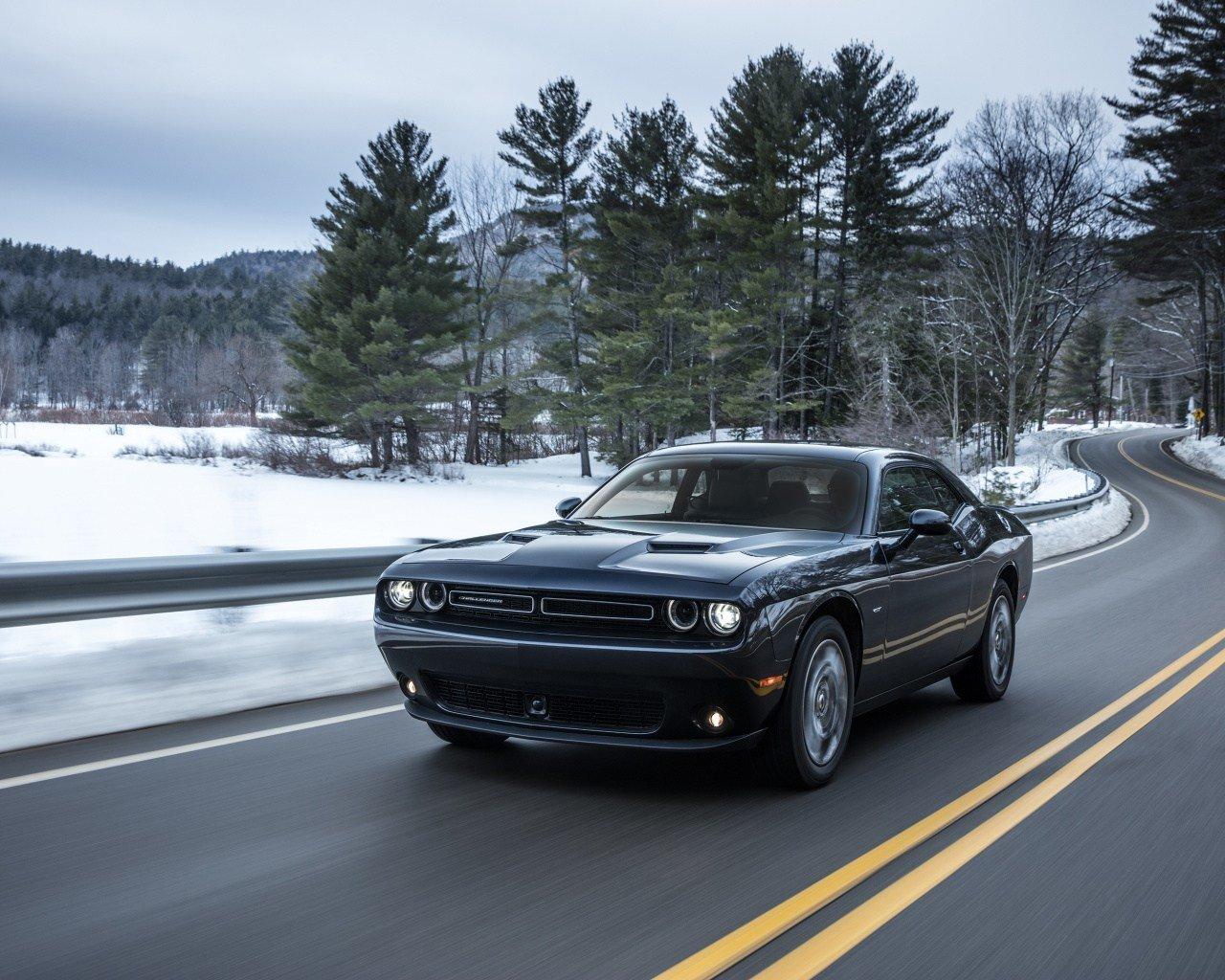 New Download 1280X1024 Wallpaper Black Dodge Challenger Muscle On This Month
