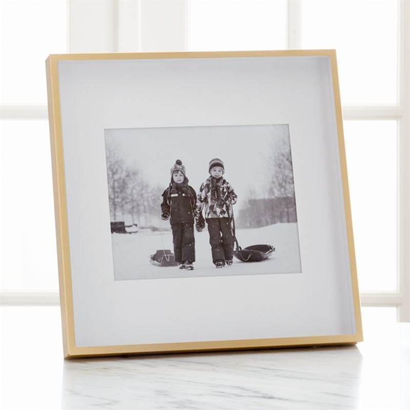 New Brushed Brass 8X10 Frame Reviews Crate And Barrel On This Month