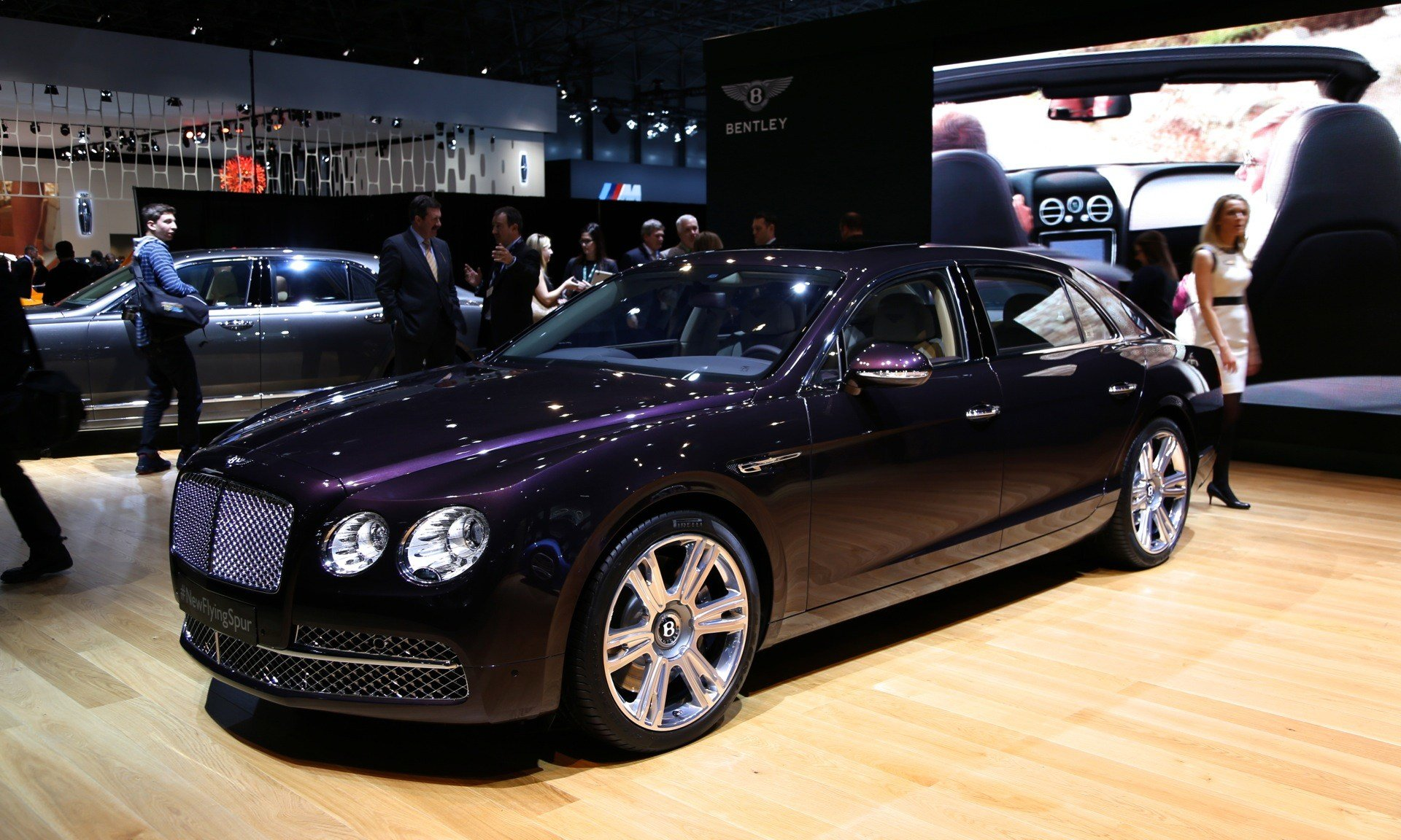 New 2014 Bentley Flying Spur Live Photos From The New York On This Month