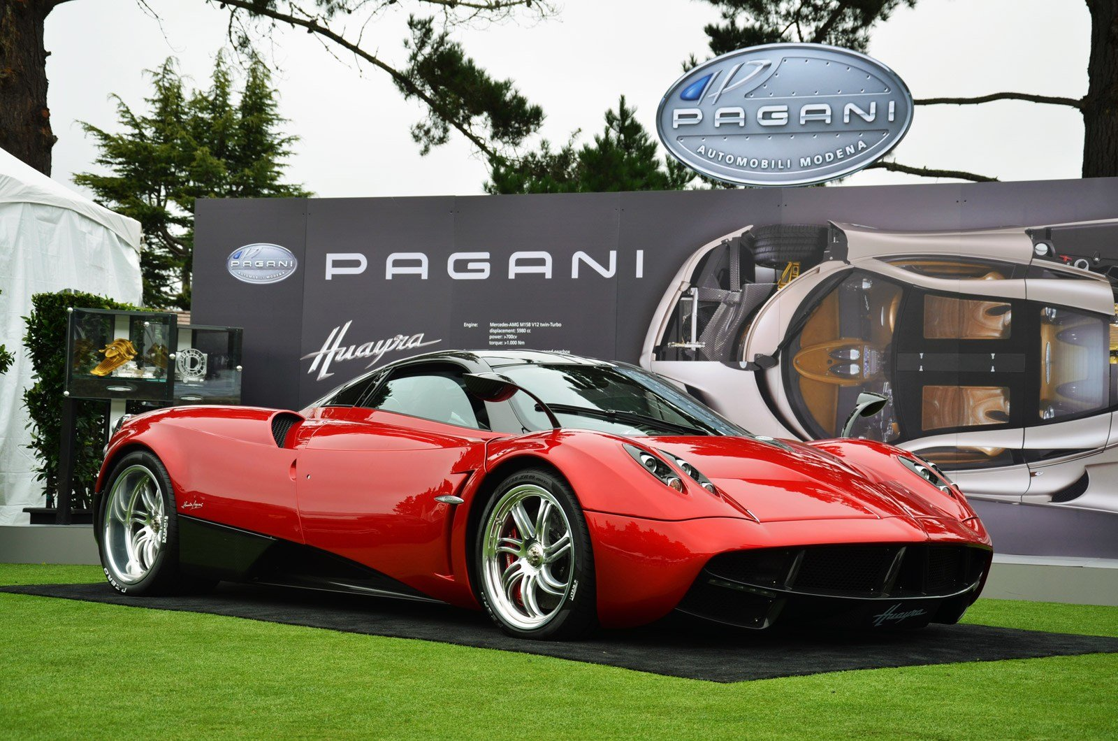 New Pagani Huayra Chassis Number 1 For Sale On This Month