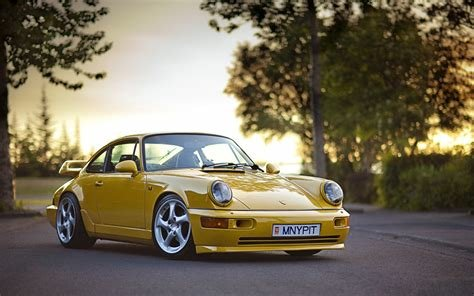 New Wallpaper Porsche 911 Sports Car Yellow Cars On This Month