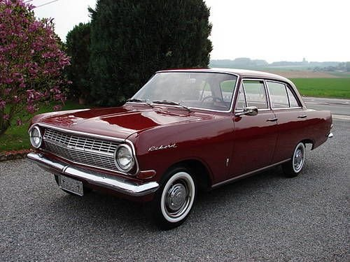 New Classic Opal Cars Opel Rekord 1965 Beep Beep Yeah On This Month