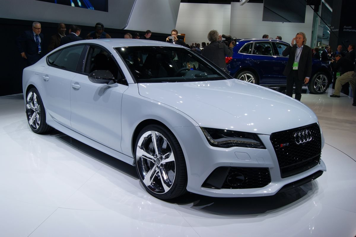 New Audi Rs7 Sportback 412Kw Four Door Coupe Debuts In On This Month