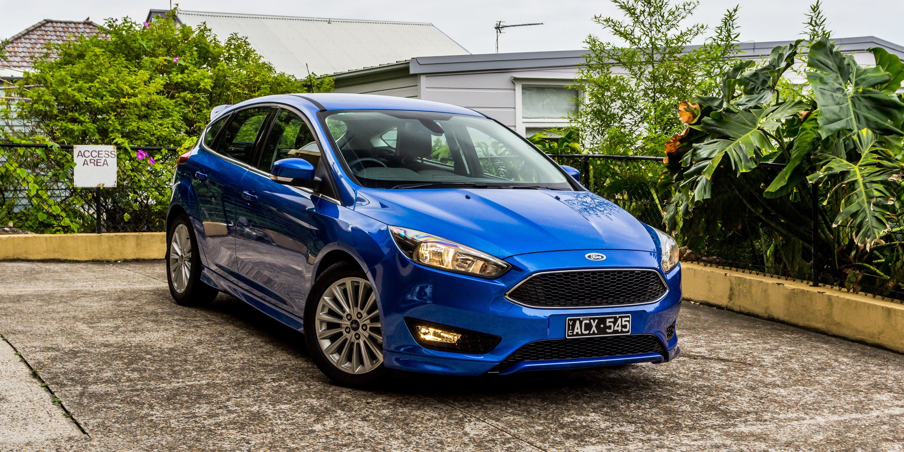 New 2016 Ford Focus Sport Review Photos Caradvice On This Month