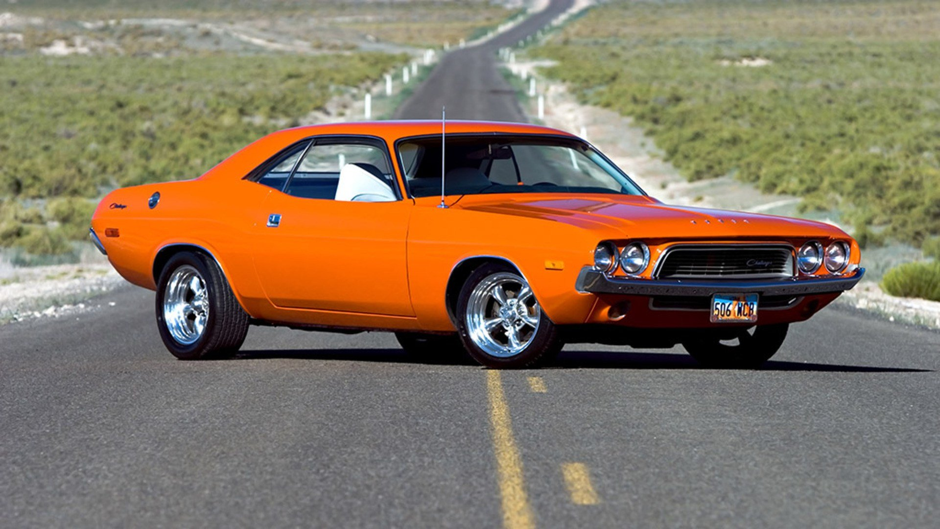 New Dodge Challenger Roads Muscle Cars Orange Hot Rod On This Month