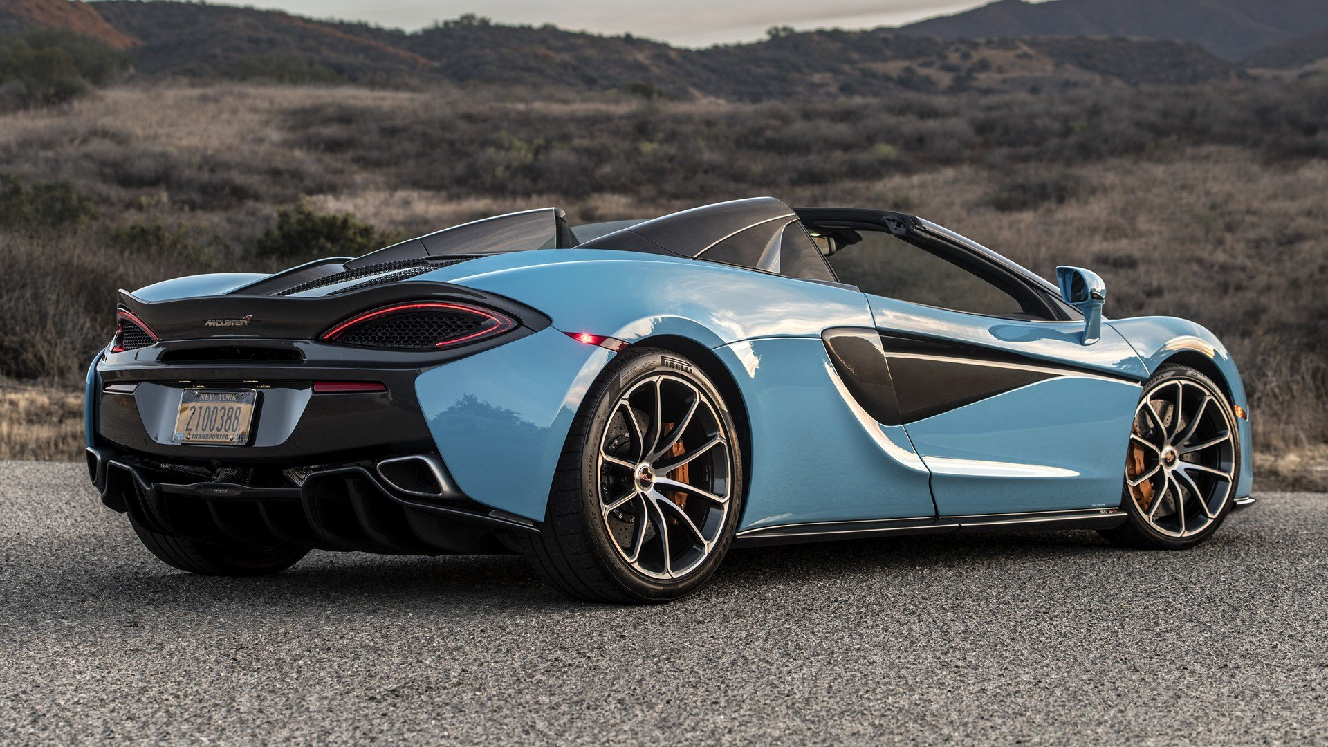 New 2018 Mclaren 570S Spider Us Wallpapers And Hd Images On This Month