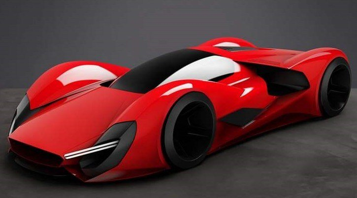 New Ferrari Supercar Concepts For 2040 Wordlesstech On This Month