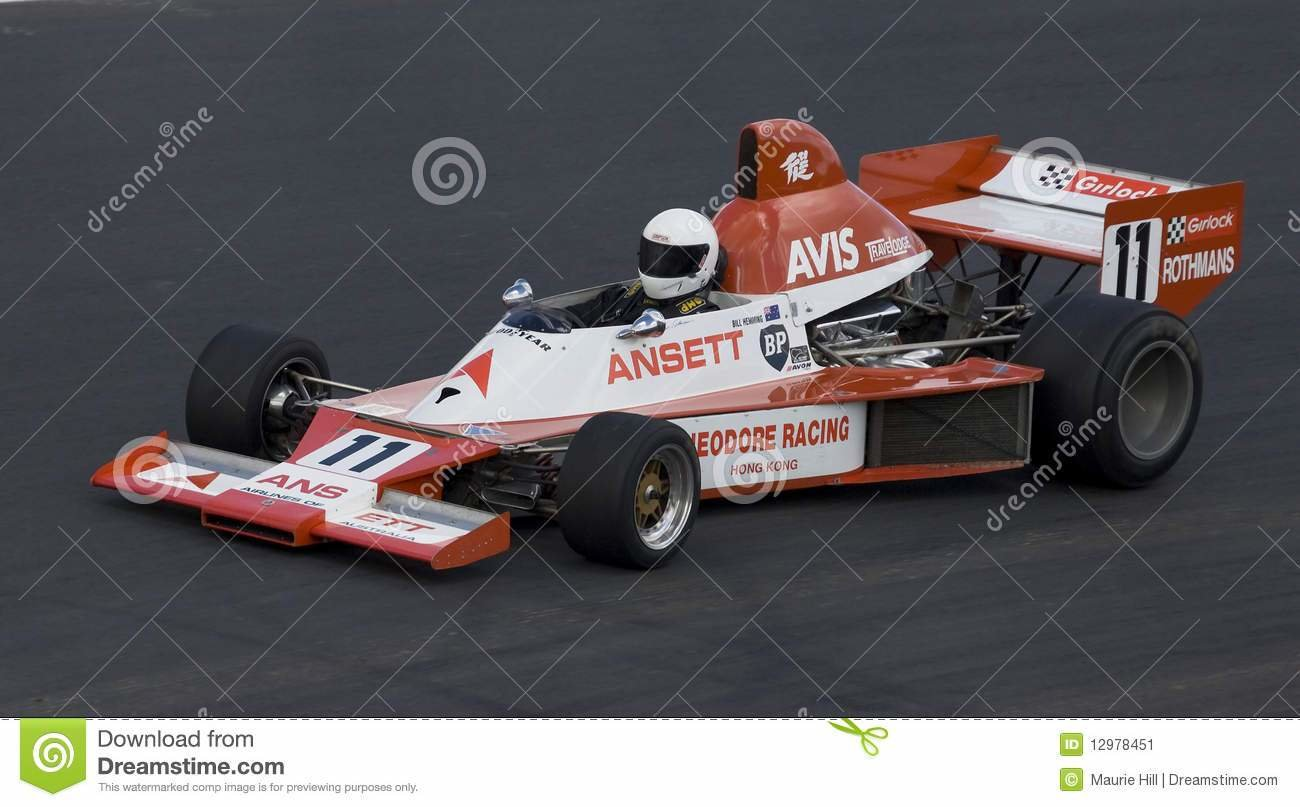 New Formula 5000 Elfin Race Car Editorial Photo Image 12978451 On This Month