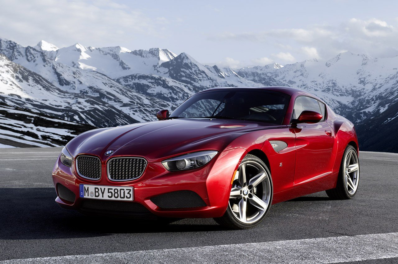 New Bmw Reveals Stunning Zagato Coupe At Villa D Este Autoblog On This Month