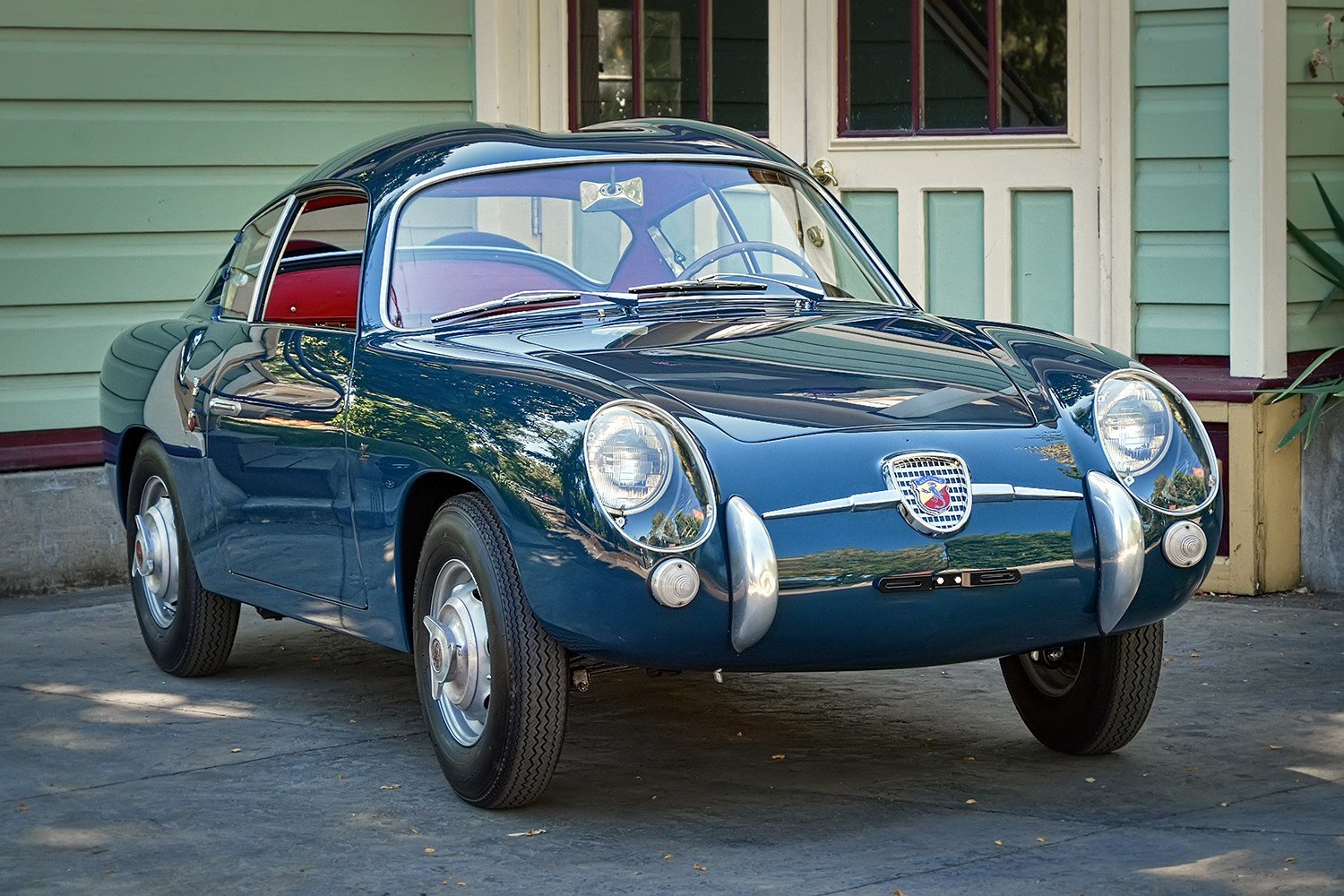New Restored 1958 Fiat Abarth 750 Zagato Sports Car Shop On This Month