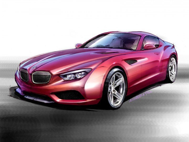 New Bmw Zagato Coupé Car Body Design On This Month