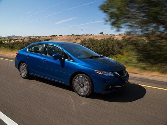New Compact Car Comparison 2015 Honda Civic Kelley Blue Book On This Month