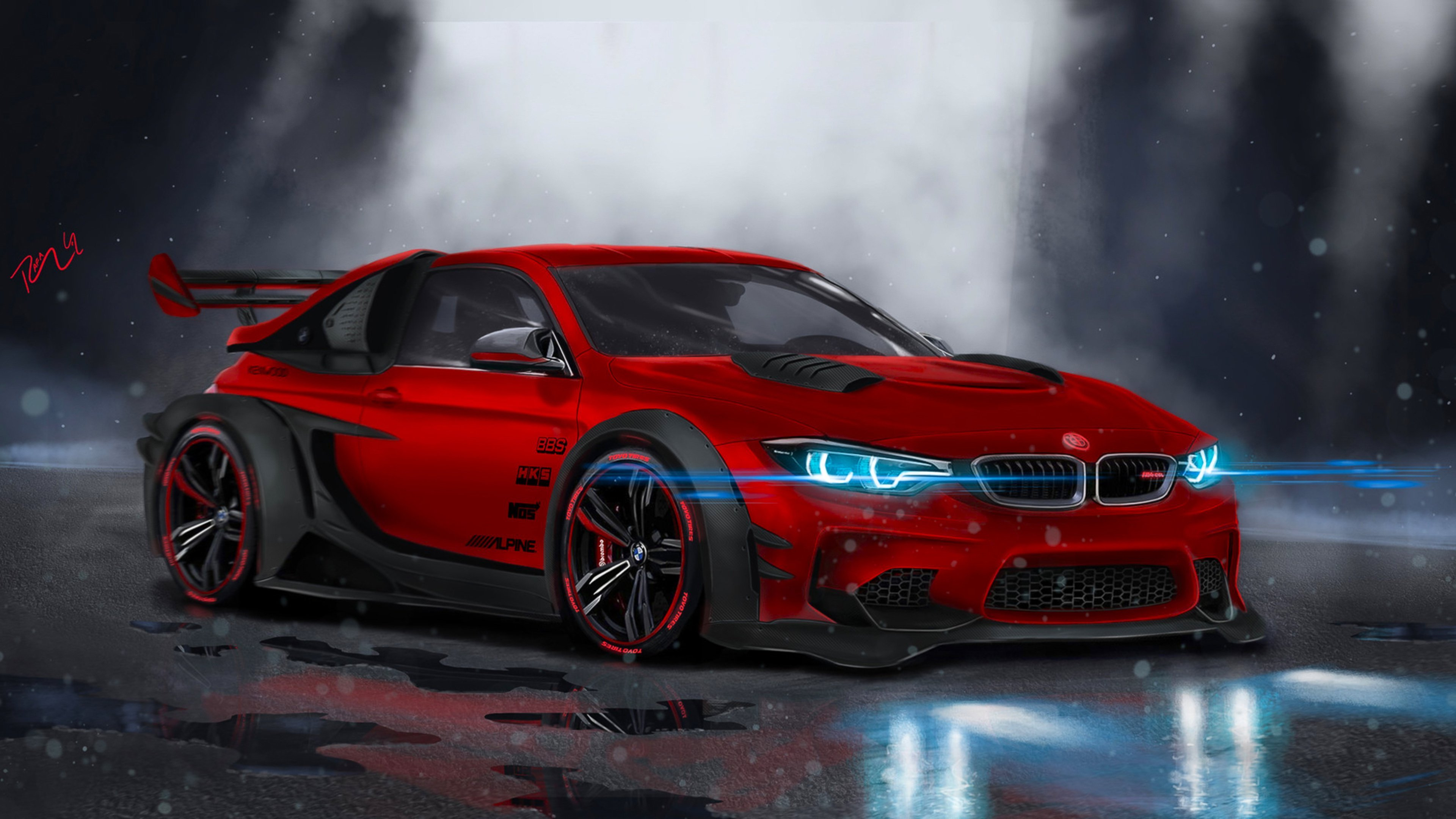 New Bmw M4 Highly Modified Hd Cars 4K Wallpapers Images On This Month