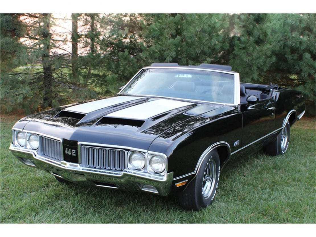 New 1970 Oldsmobile 442 Convertible Rental In Los Angeles And On This Month