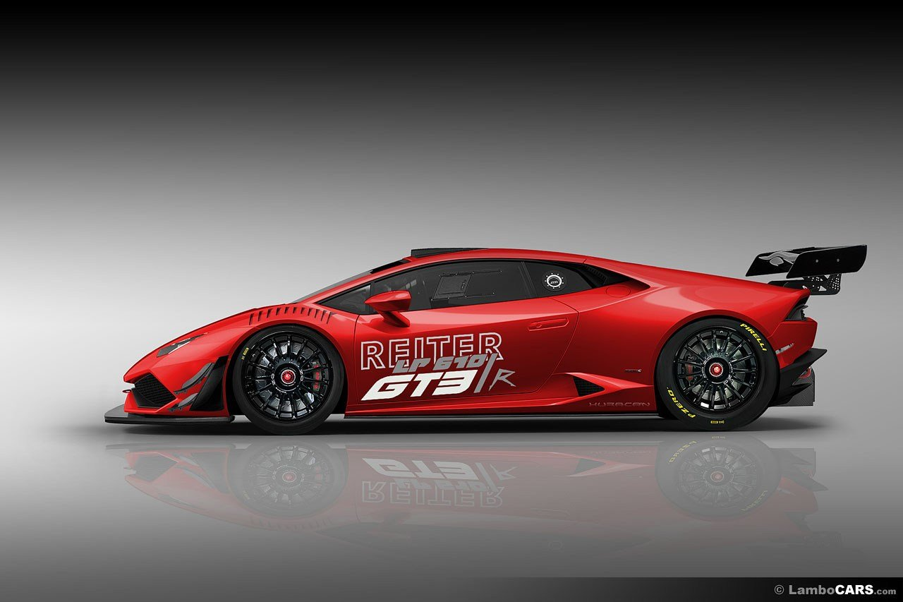 New Lamborghini Huracan Gt3 Race Car Rendered Autoevolution On This Month