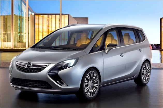 New World Latest Car Models 2012 Opel Zafira Tourer On This Month
