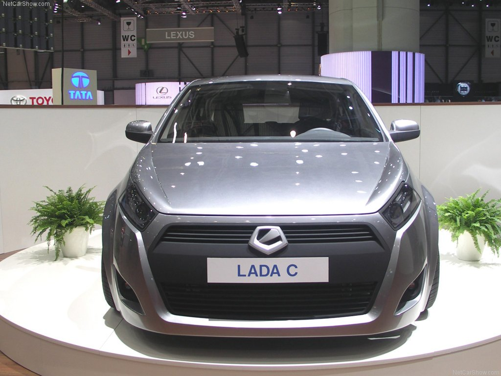 New Cars Library Lada C Concept On This Month