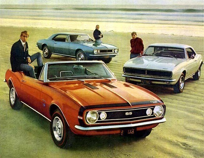 New 1967 1968 Camaro History On This Month