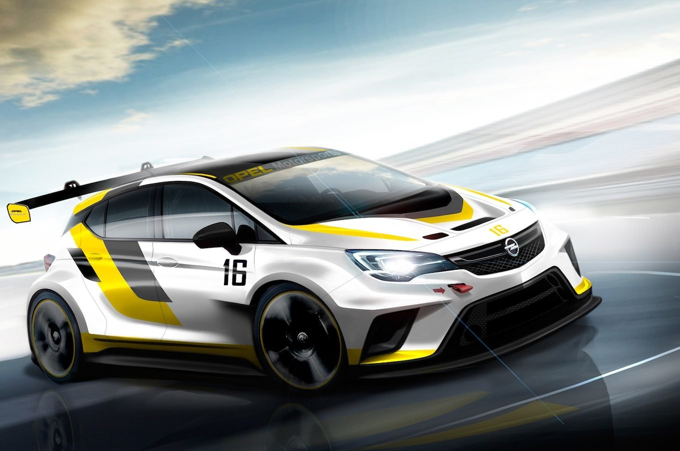 New Opel Developing 330 Hp Astra Race Car For Tcr Series On This Month