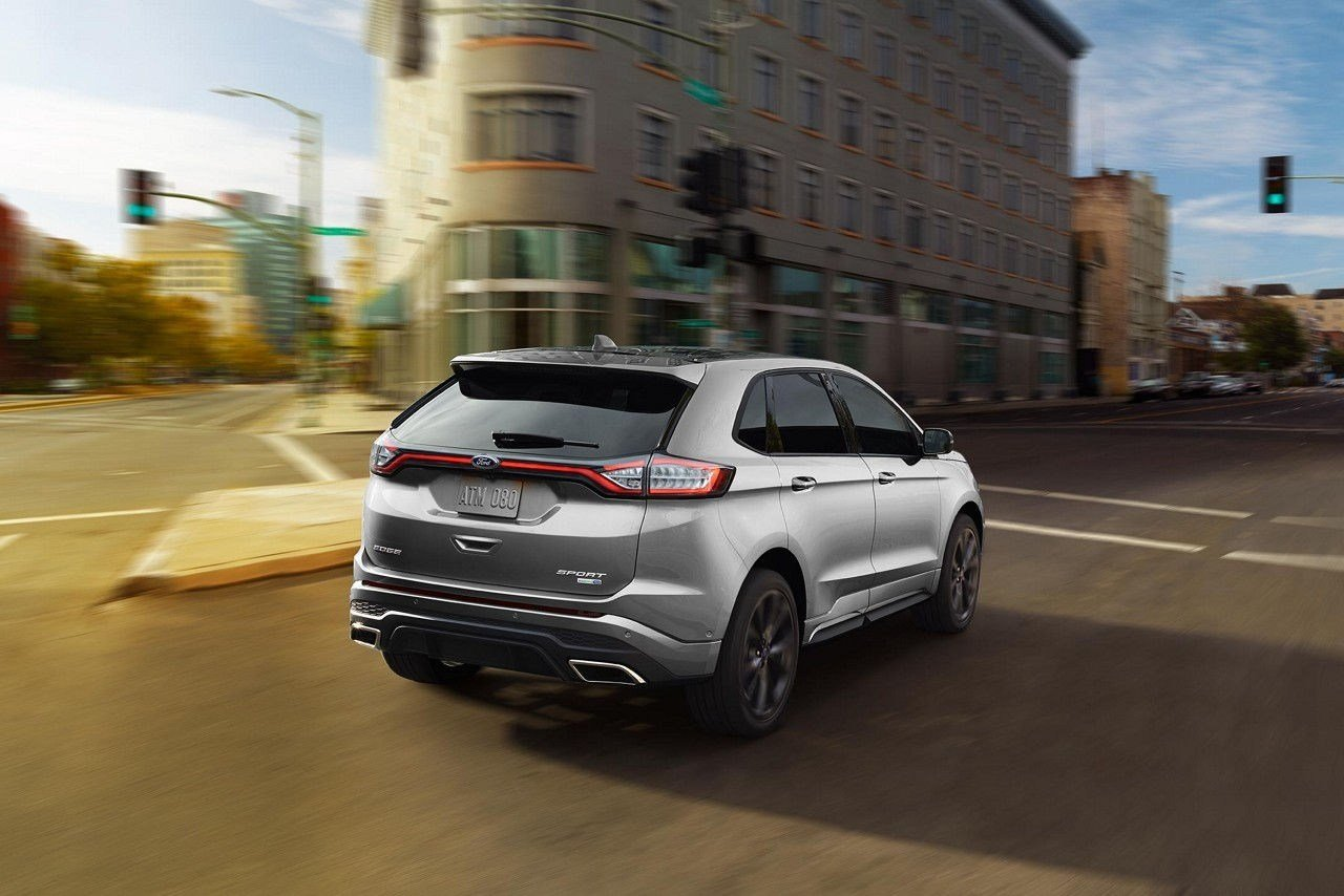 New 2019 Ford Edge Rear Hd Photo Car Preview And Rumors On This Month