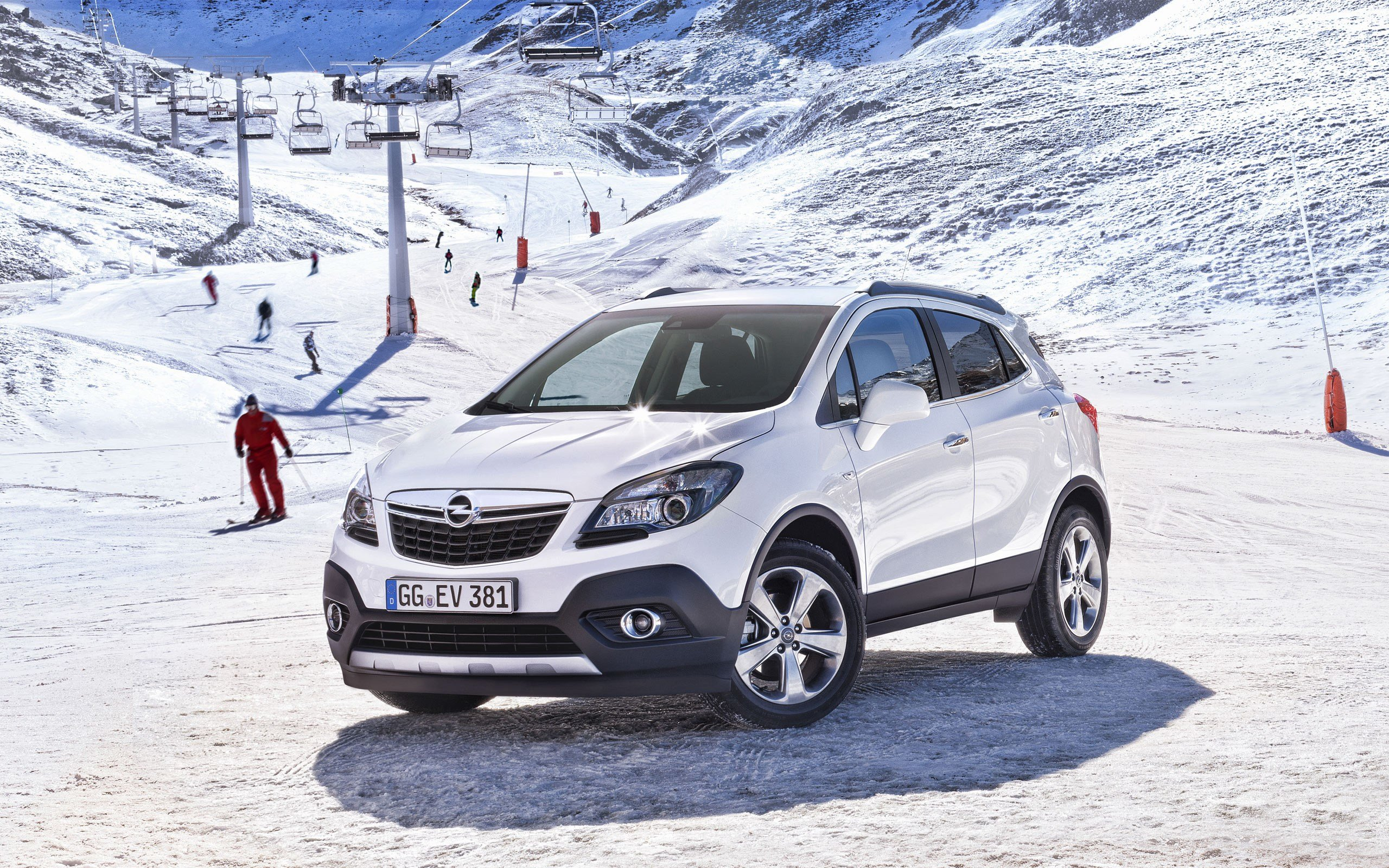 New 2013 Opel Mokka Wallpaper Hd Car Wallpapers Id 3082 On This Month
