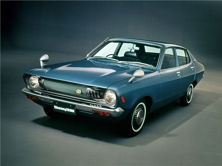 New Nissan Sunny B210 Classic Car Review Honest John On This Month