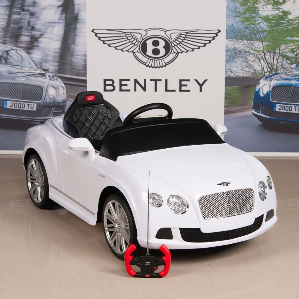 New Bentley Gtc 12V Ride On Kids Battery Power Wheels Car Rc On This Month