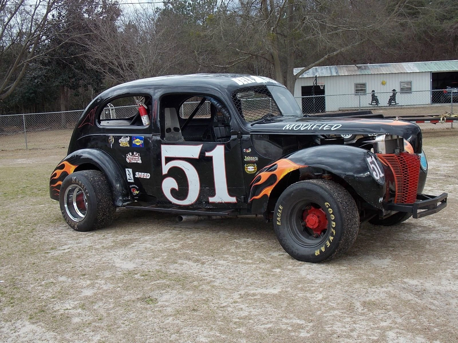 New 1940 Ford Sedan Race Car Vintage Circle Track For Sale In On This Month Original 1024 x 768