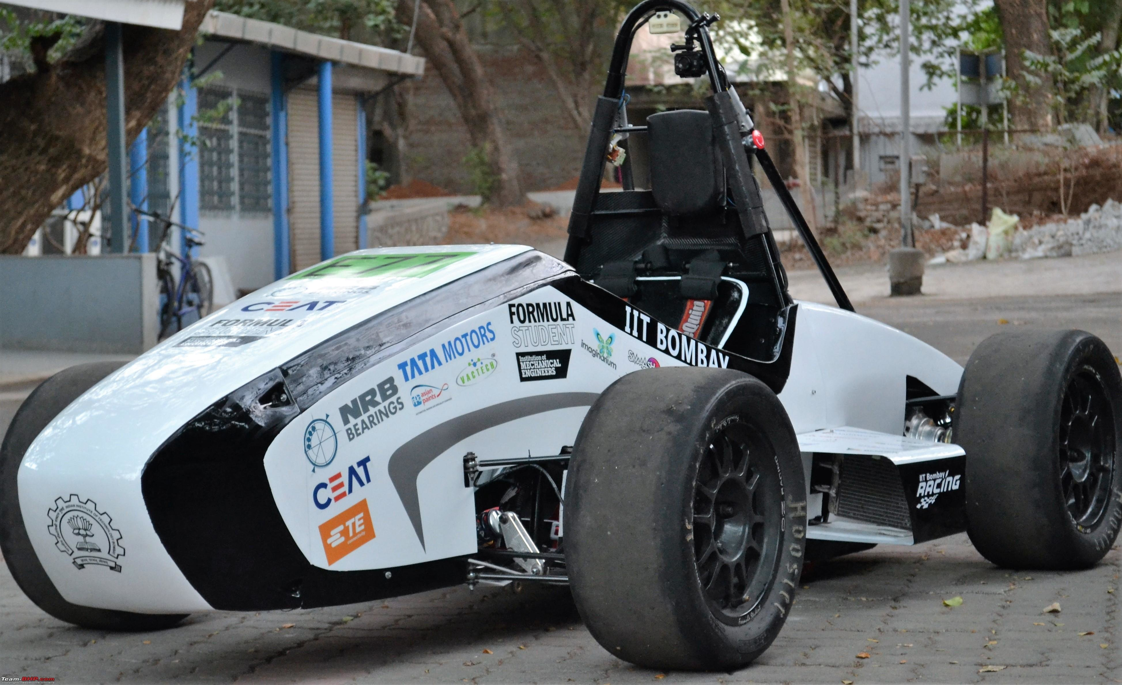 New Orca Iit Bombay S Electric Race Car Team Bhp On This Month