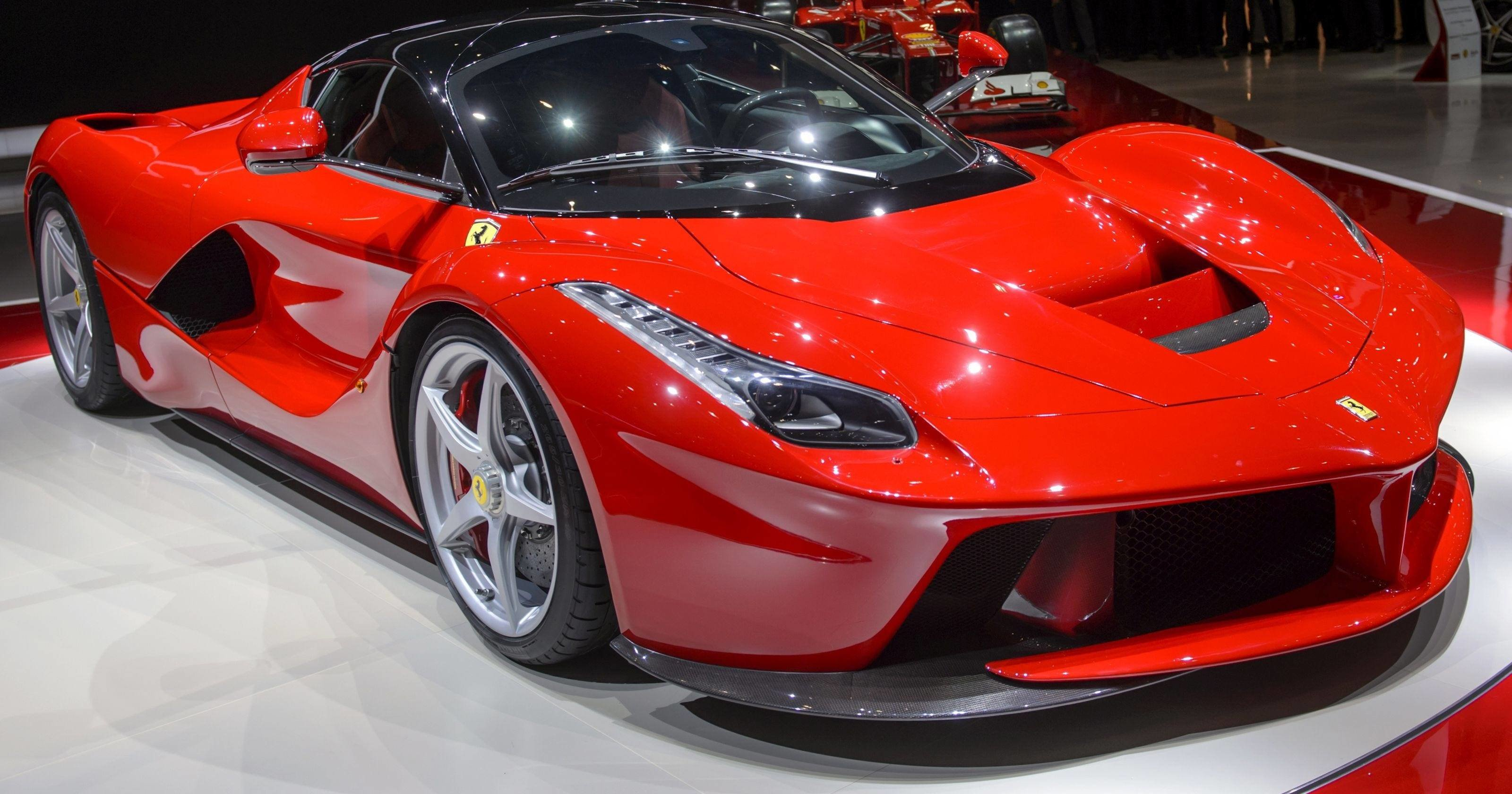 New Fastest Ferrari Ever Unveiled And It S A Hybrid On This Month