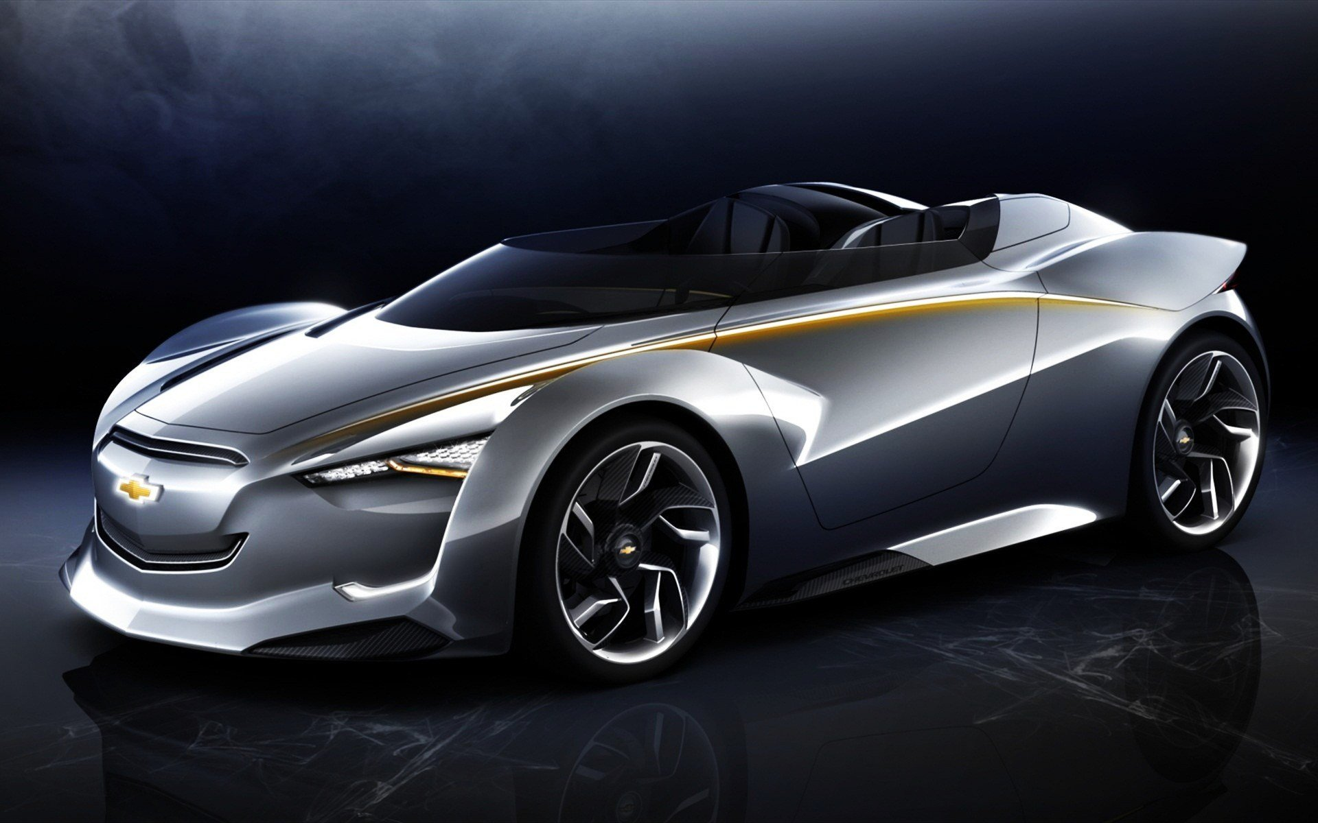 New Chevrolet Mi Ray Roadster Concept Car Wallpapers Hd On This Month