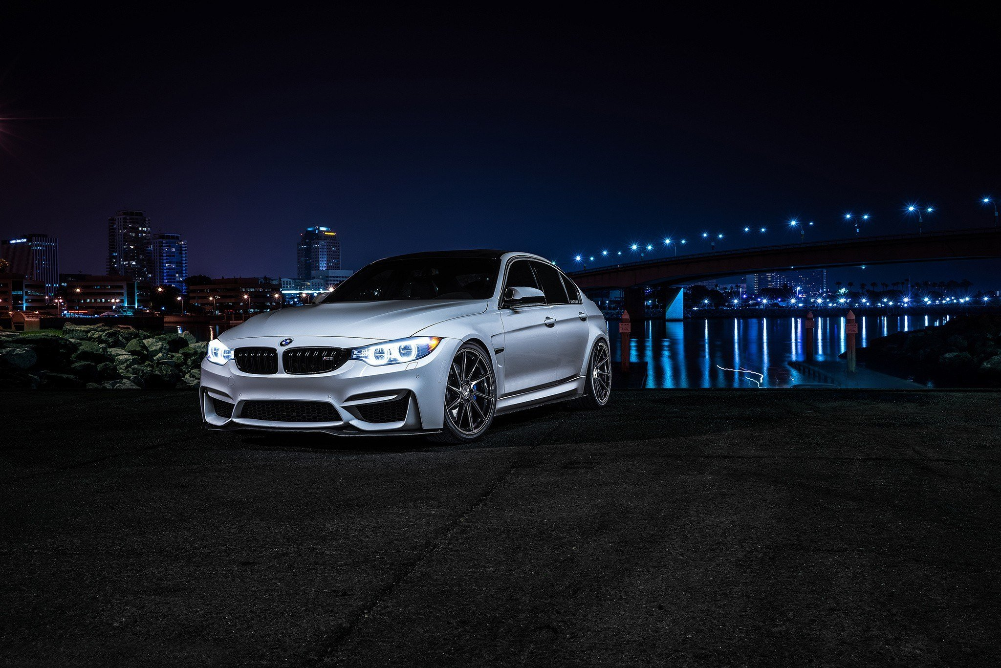 New Bmw Car Night Wallpapers Hd Desktop And Mobile Backgrounds On This Month