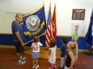 NROTC flags