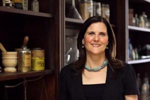 Janet Walkow, Drug Dynamics institute, pharmacy building, portrait