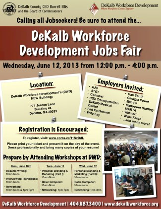 Job Fair Flyer Job Seekers
