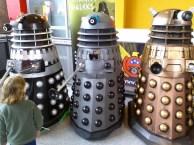 Maker Faire Daleks
