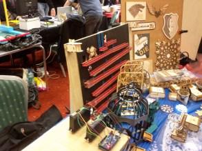 Plywood Donkey Kong at Maker Faire