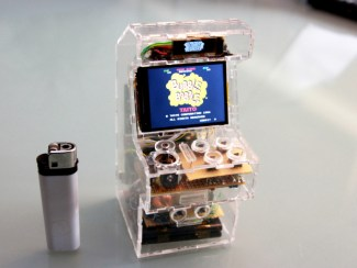 Raspberry Pi powered Bubble Bobble
