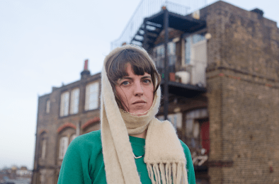 Rozi Plain wrapped up. Photo: Huw Rose.